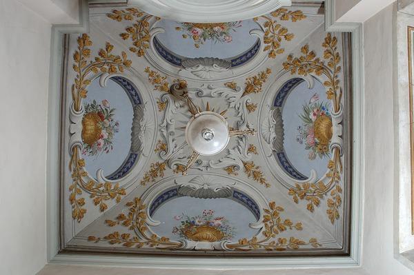 Soffitti A Volta Decorazioni : Il dell affresco ingegneria d affresco il soffitto